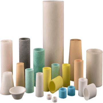 porous plastic tube