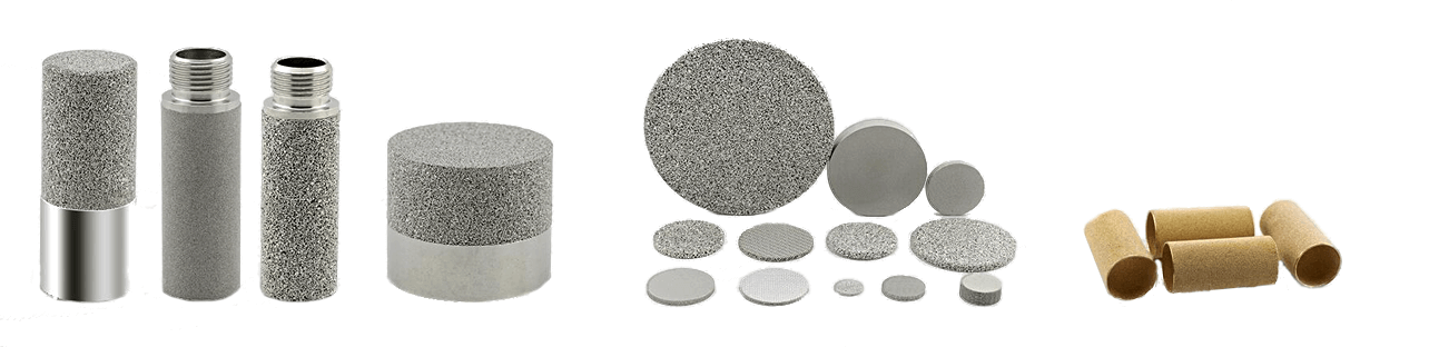 porous sintered powder products