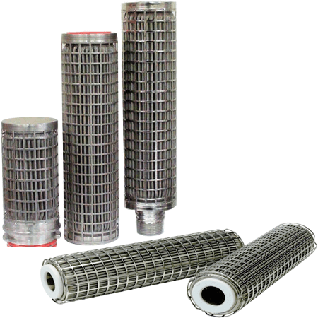 Stainless Steel Candle Filter Cartridge