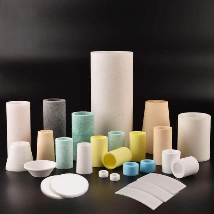 sintered porous plastics