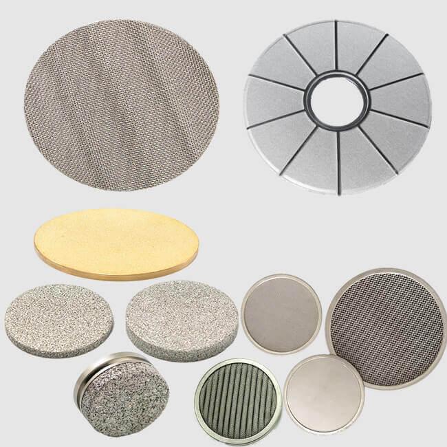 metal filter discs