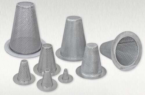Conical Strainer, Strainer Temporary