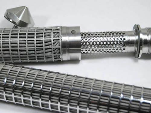 sintered metal filter elements