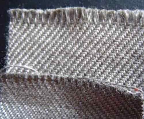 metallic fiber fabric