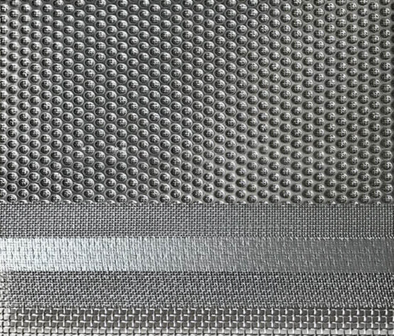 Perforated Sintered Wire Mesh Filter Plate