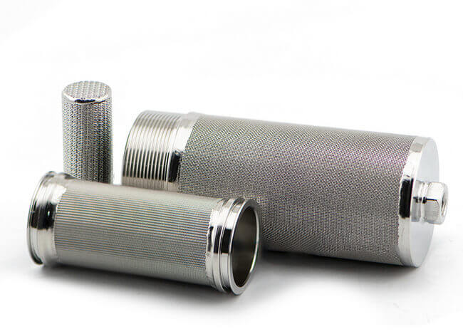 stainless steel Wire Mesh Cartridge Filter