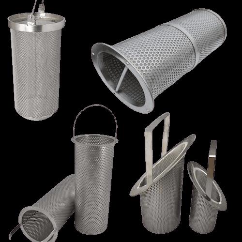Industrial Filter Strainer Baskets