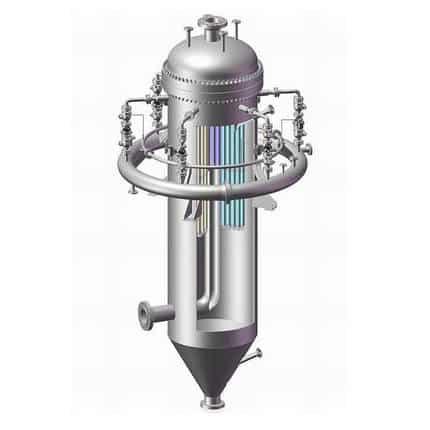 Industrial hot gas filter
